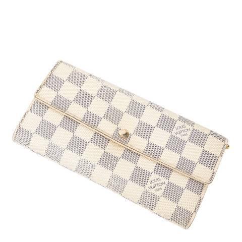 Louis Vuitton Ivory Sarah 10 Wallet
