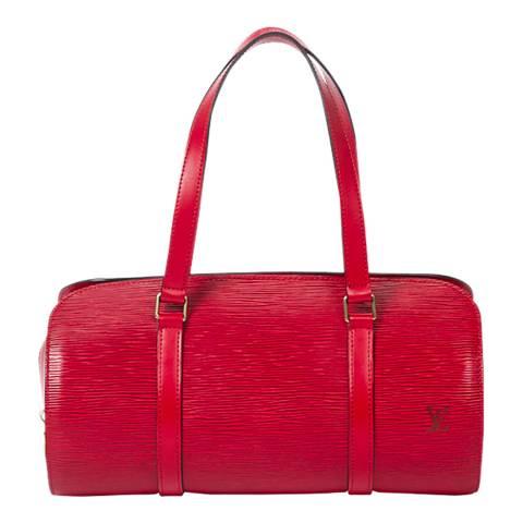 Louis Vuitton Red Soufflot Shoulder Bag