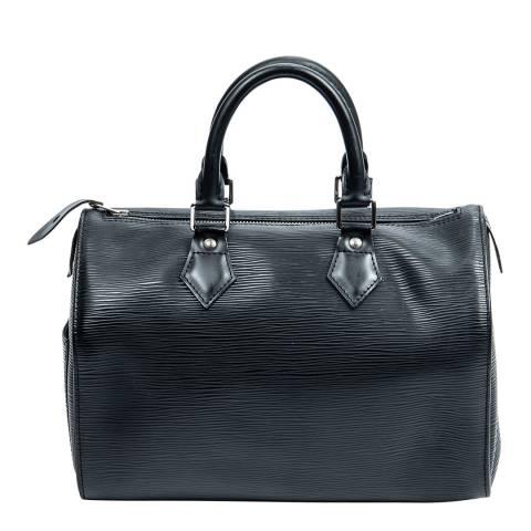 Louis Vuitton Black Speedy Handbag