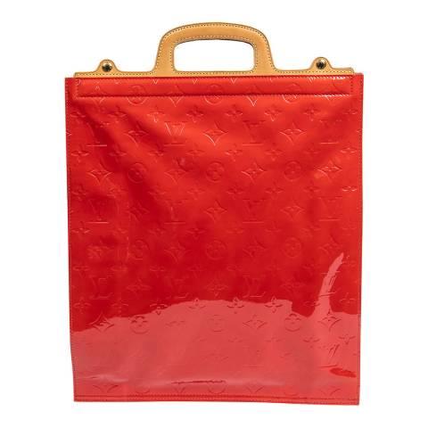 Louis Vuitton Red Stanton Handbag