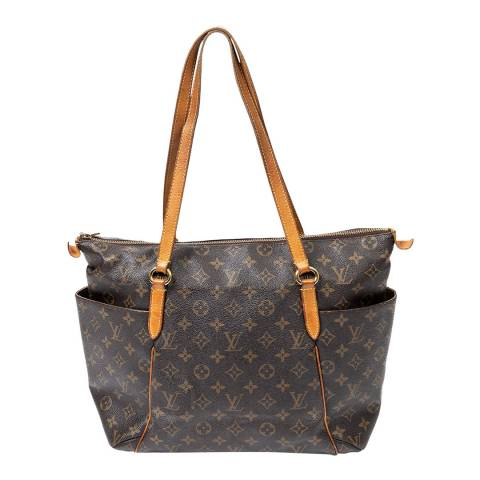 Louis Vuitton Brown Totally Shoulder Bag
