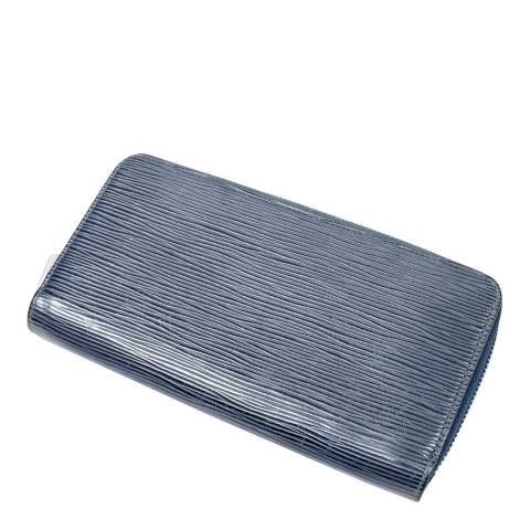 Louis Vuitton Navy Zippy Wallet