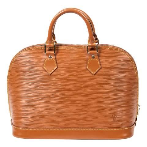 Louis Vuitton Tan Alma Shoulder Bag