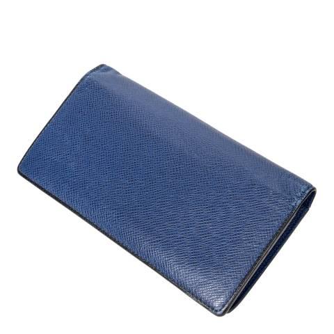 Louis Vuitton Blue Brazza Wallet