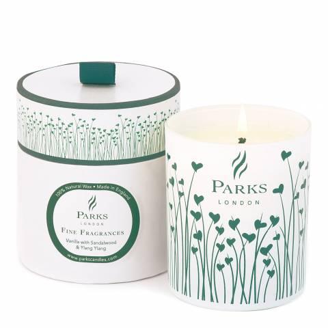 Parks London Vanilla Sandalwood Fine Fragrance Candle 30cl