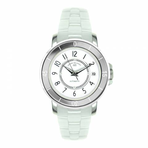 Andre Belfort Women's White/Silver Diamond Aphrodite Watch