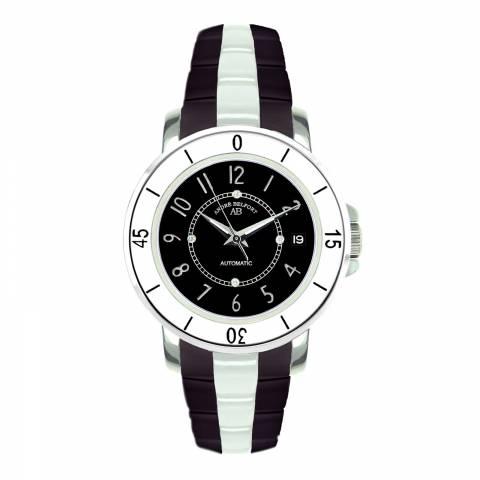 Andre Belfort Women's Black/White Diamond Aphrodite Watch