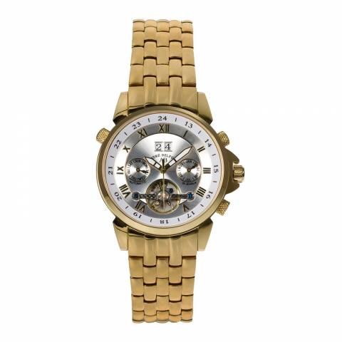 Andre Belfort Men's Gold/Silver Stainless Steel Watch
