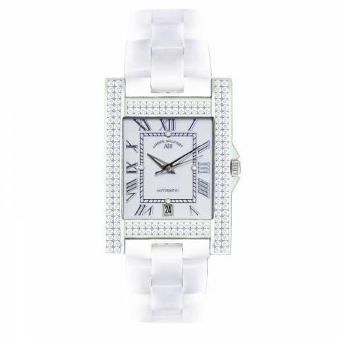 Andre Belfort Women's White Diamond Hera Weiss Watch