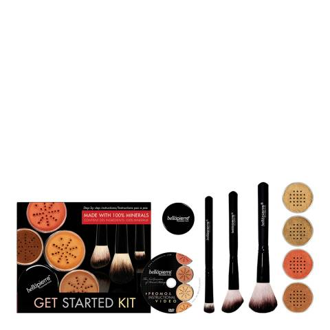Bellapierre Get Started Foundation Kit Deep
