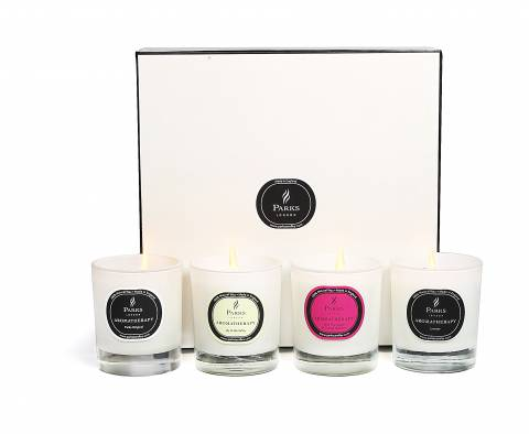 Parks London Set Of Four Candles Luxury Gift Set Selection One
