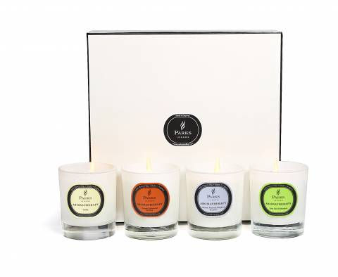 Parks London Set Of Four Candles Luxury Gift Set Selection Two