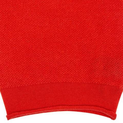 Laycuna London Red Luxury Cashmere Snood