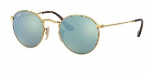 Ray-Ban Unisex Silver Flash Rayban Sunglasses 47mm