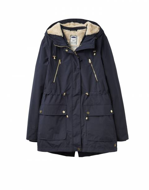 Joules Navy 3-in-1 Parka Jacket