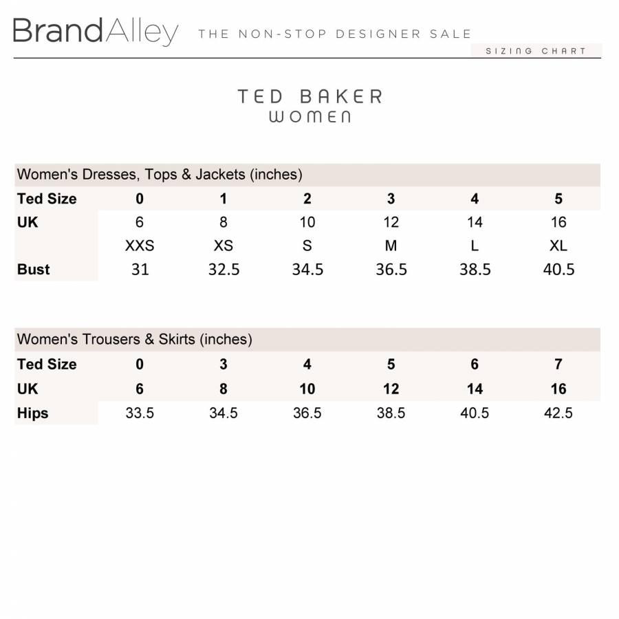 12268494d559 Ted Baker Women's Jade Paris Super Skinny Jeans 28