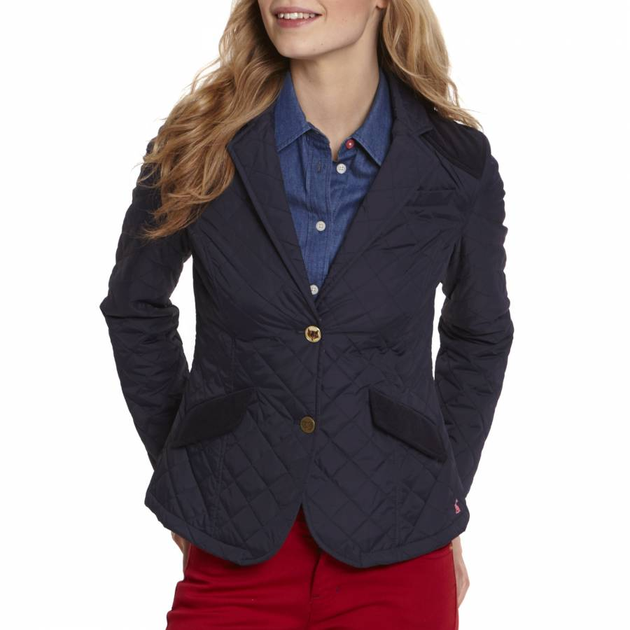 983bb794a Women's Navy Hampton Quilted Jacket - BrandAlley