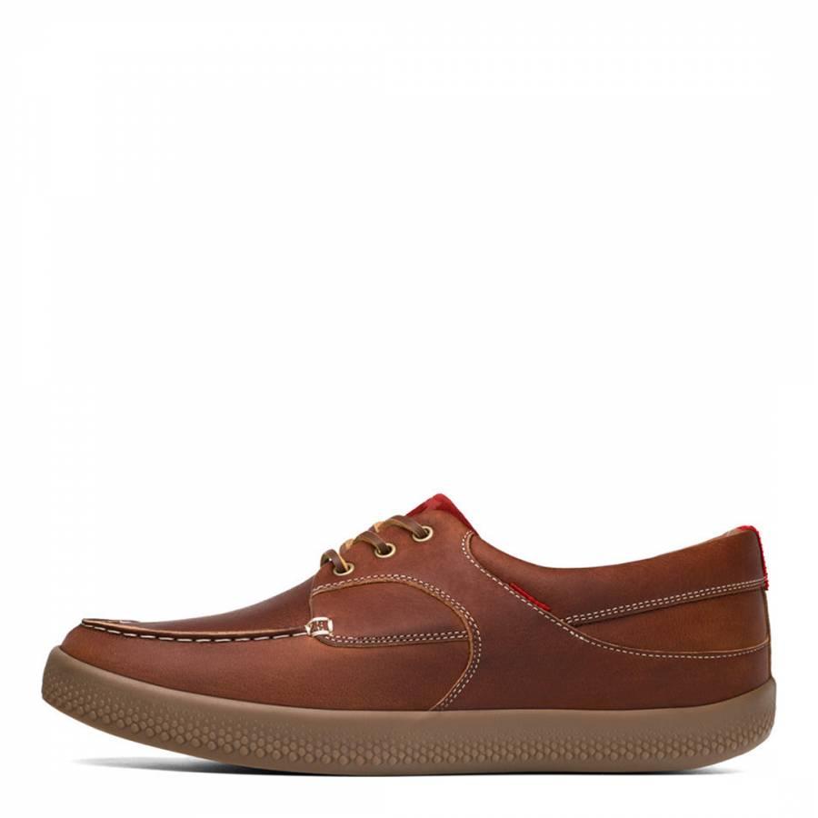 0a297a4576ff81 Tan Leather Monty Boatmoc Shoes - BrandAlley