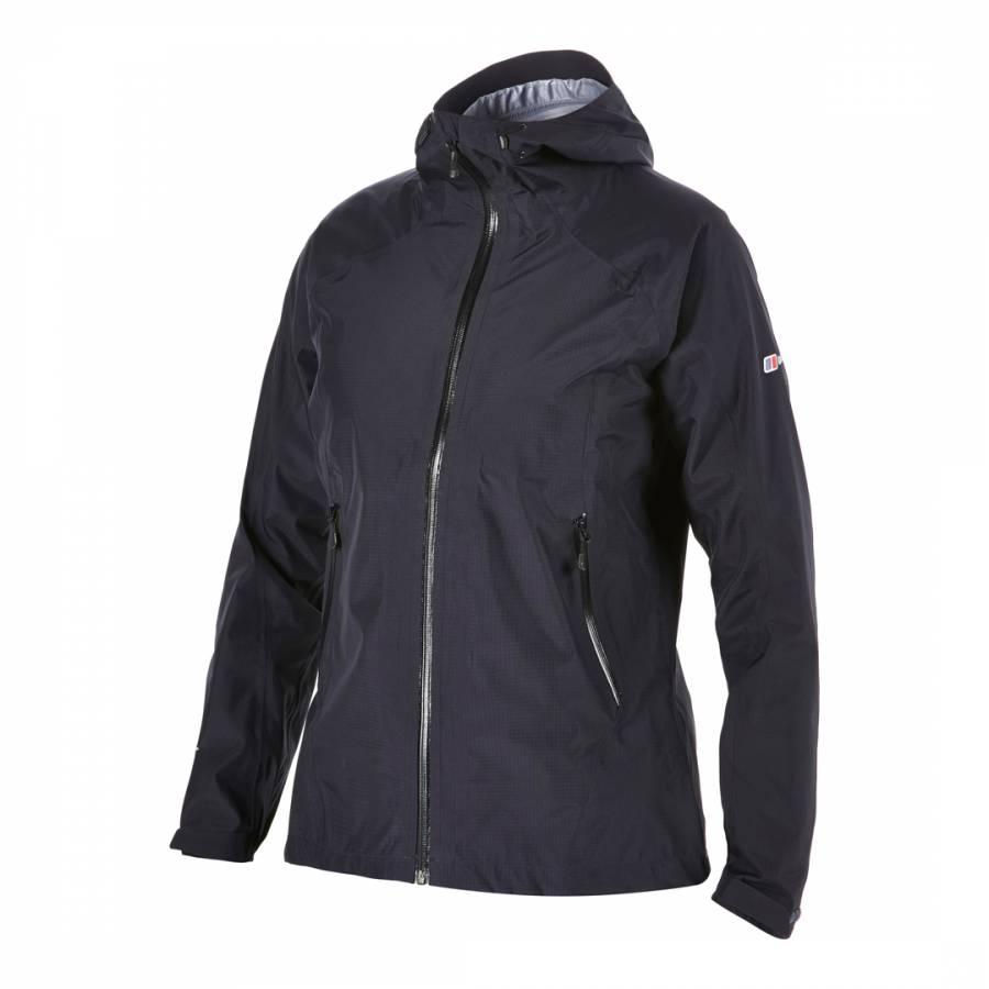 Women s Black Electra Gore Tex Shell Jacket - BrandAlley 99159b7f32
