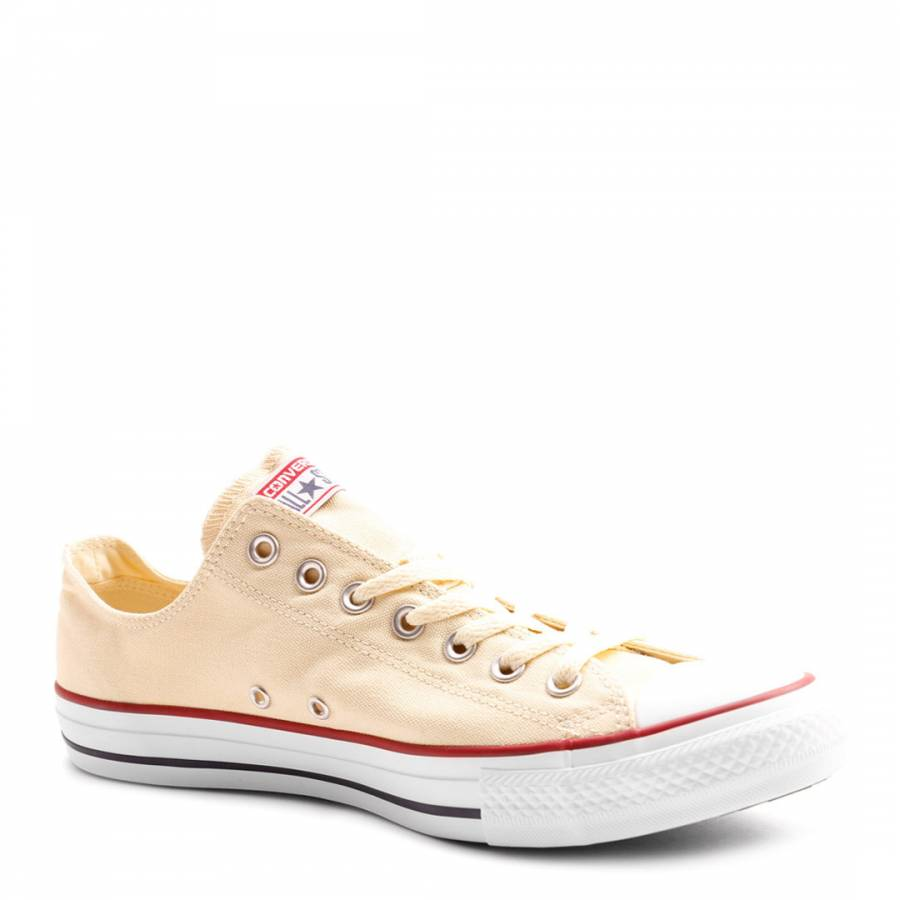 06b4d1ad52c73b Unisex Natural White Chuck Taylor All Star Core OX Trainers - BrandAlley