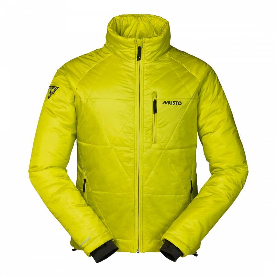470d02049 Musto Men's Yellow Evolution Baltic Jacket