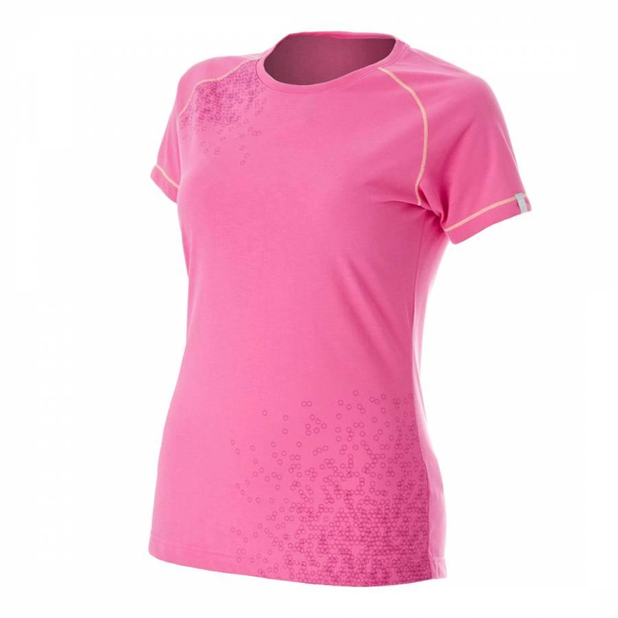 1f210bdea5f9 Women s Pink Honeycomb T Shirt - BrandAlley