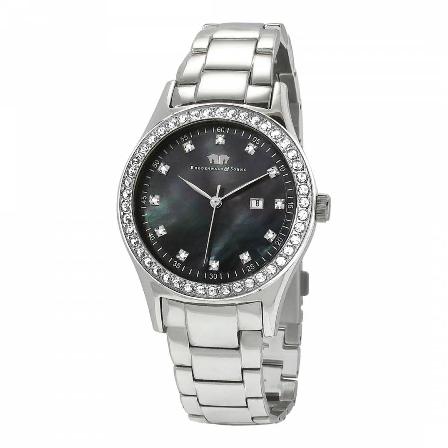 attivo steel details mens prices online for hand men india date black wrist designer formal maxima watches stainless