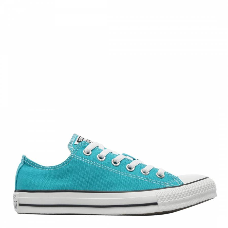 ae80799e81be Unisex Turquoise Chuck Taylor All Star Core OX Trainers - BrandAlley
