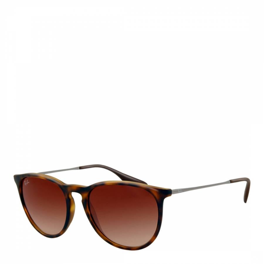 c401e49a55 Women s Brown Rubber Erika Sunglasses 54mm - BrandAlley