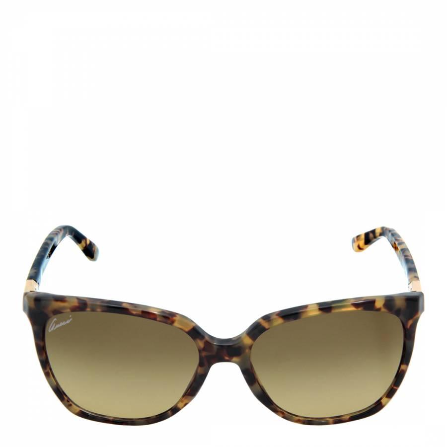 e6ed71cd2514 Women s Brown Gold Cat s Eye Sunglasses - BrandAlley