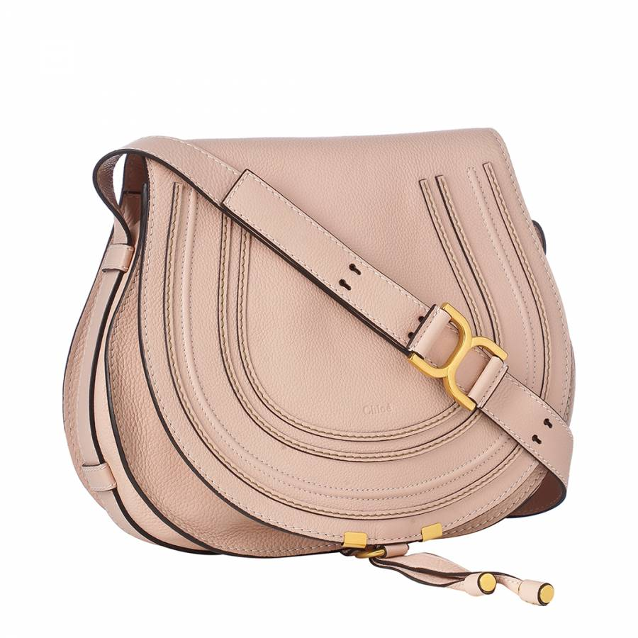 6662aa92cb5a Light Pink Leather Marcie Shoulder Bag - BrandAlley