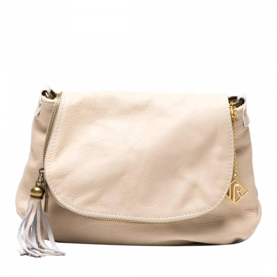 6fa10fca0c Isabella Rhea Beige Leather Cross Body Bag