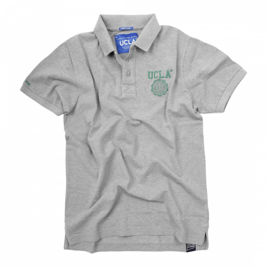 98a6d6ef7 Grey Anderson Crest Cotton Polo Shirt - BrandAlley