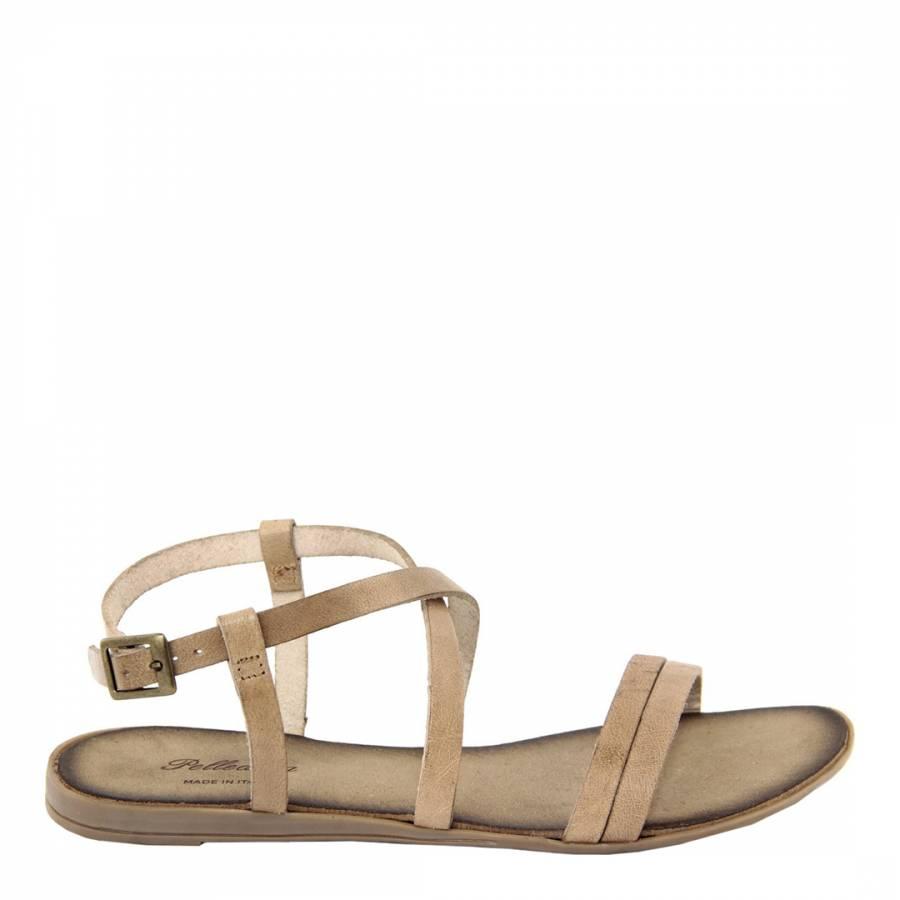 cd220cbbe Pelladoca Stone Leather Crossover Sandals. prev. next. Zoom