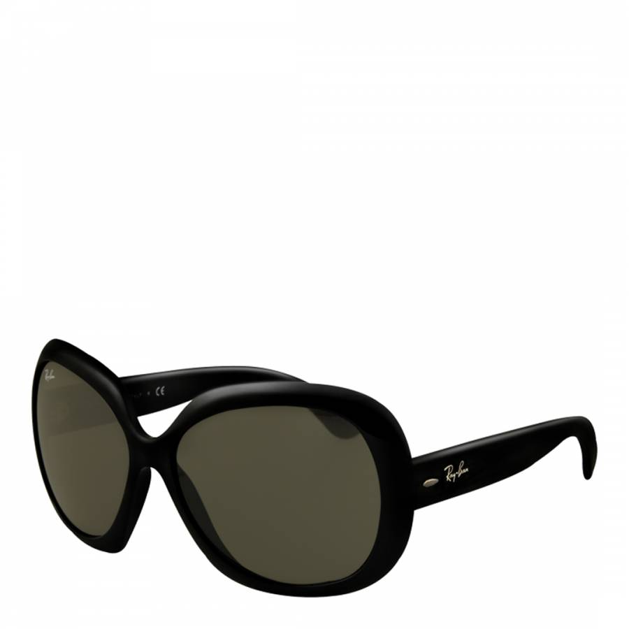 fed5d27386 Ray-Ban Women s Black Grey Jackie Ohh II Butterfly Sunglasses 60mm. prev.  next