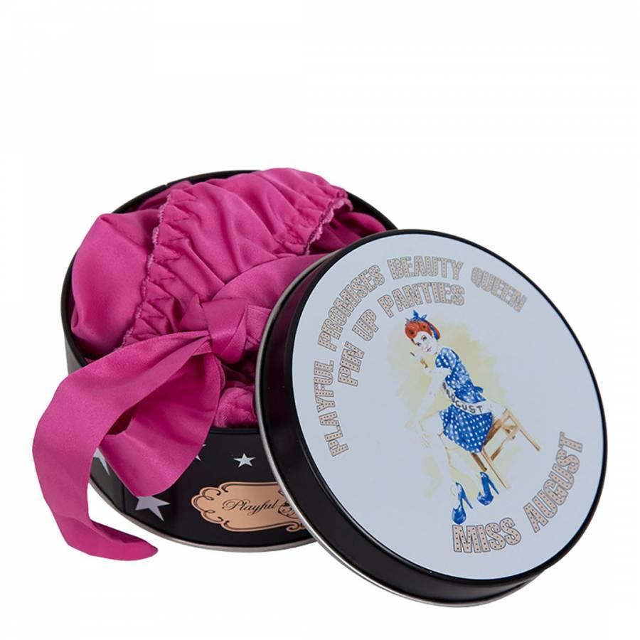 8a395762137f8 Playful Promises Pink Miss August Beauty Queen Briefs Tin