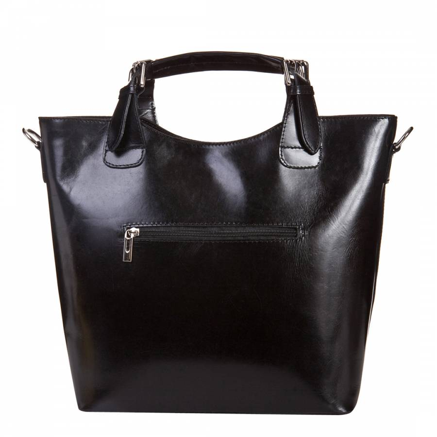 Black Leather Tote Bag Brandalley