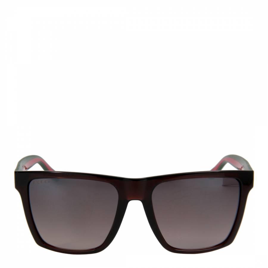 5bdd0f5e7 Gucci Women's Black Square Sunglasses 55mm. prev. next. Zoom