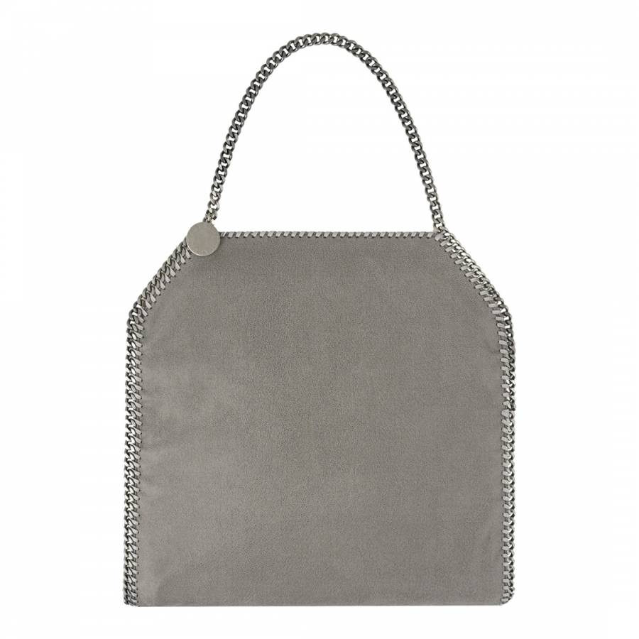 b29e4ff978945 Stella McCartney Grey/Silver Falabella Large Tote Bag