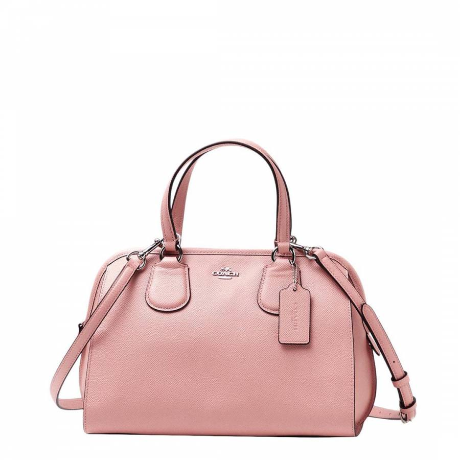 422176864 Pale Pink Leather Nolita Handbag - BrandAlley