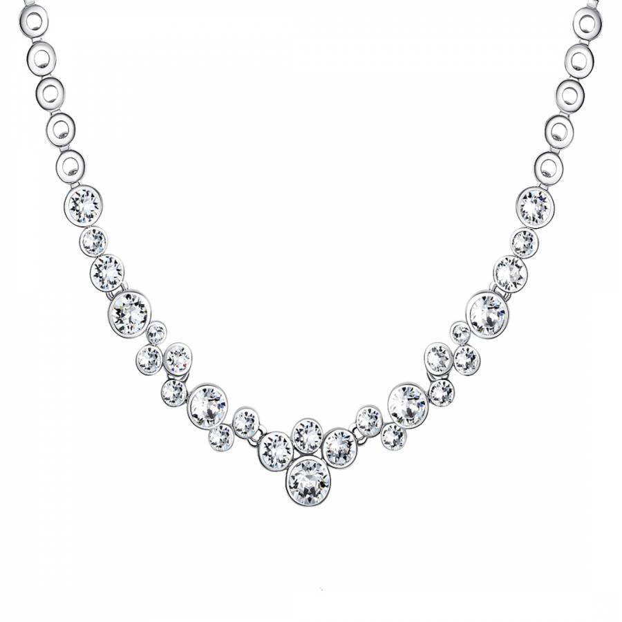 Silver Swarovski Elements Necklace