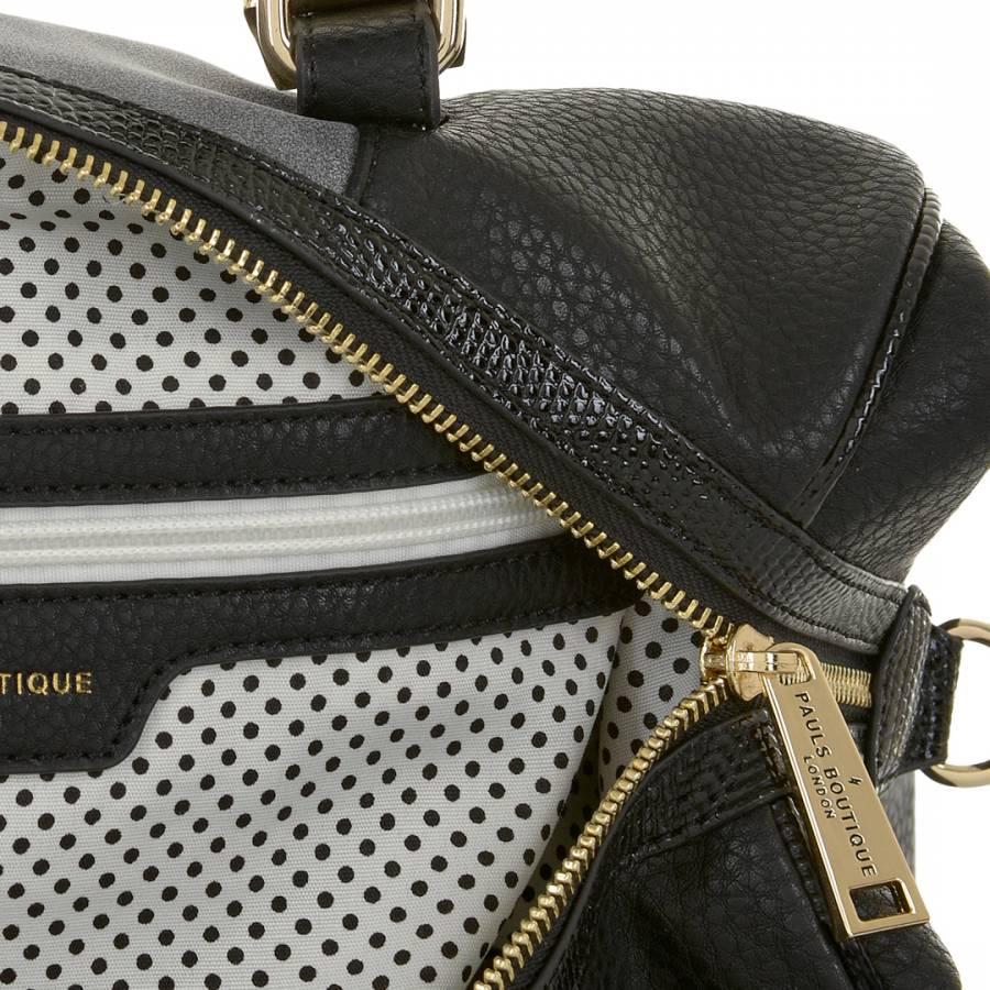 ce88f5feea Black/Grey Porter Slouchy Metallic Texture Bowling Bag - BrandAlley