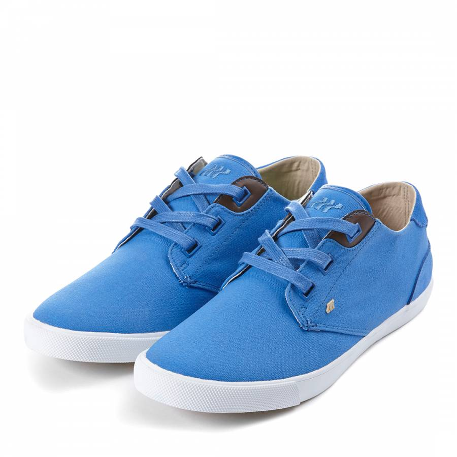 43821ae45c6 Boxfresh Blue Canvas/Suede Stern Casual Shoes