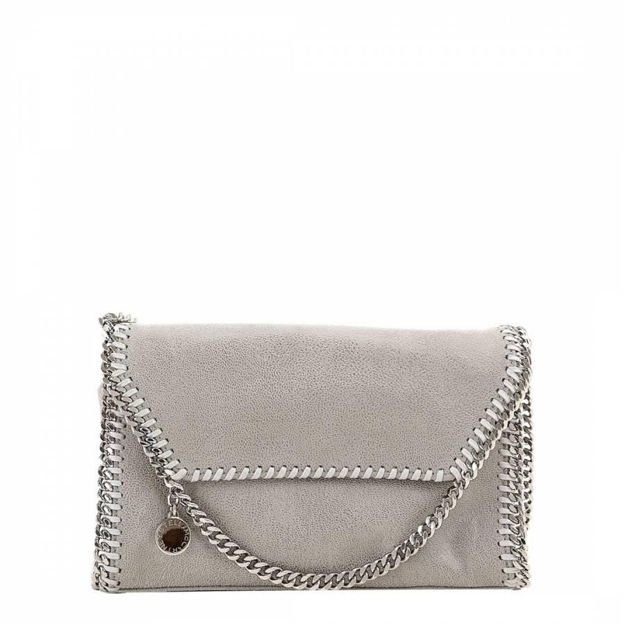 97e946ab2187 Stella McCartney Grey Falabella Shaggy Deer Mini Shoulder Bag