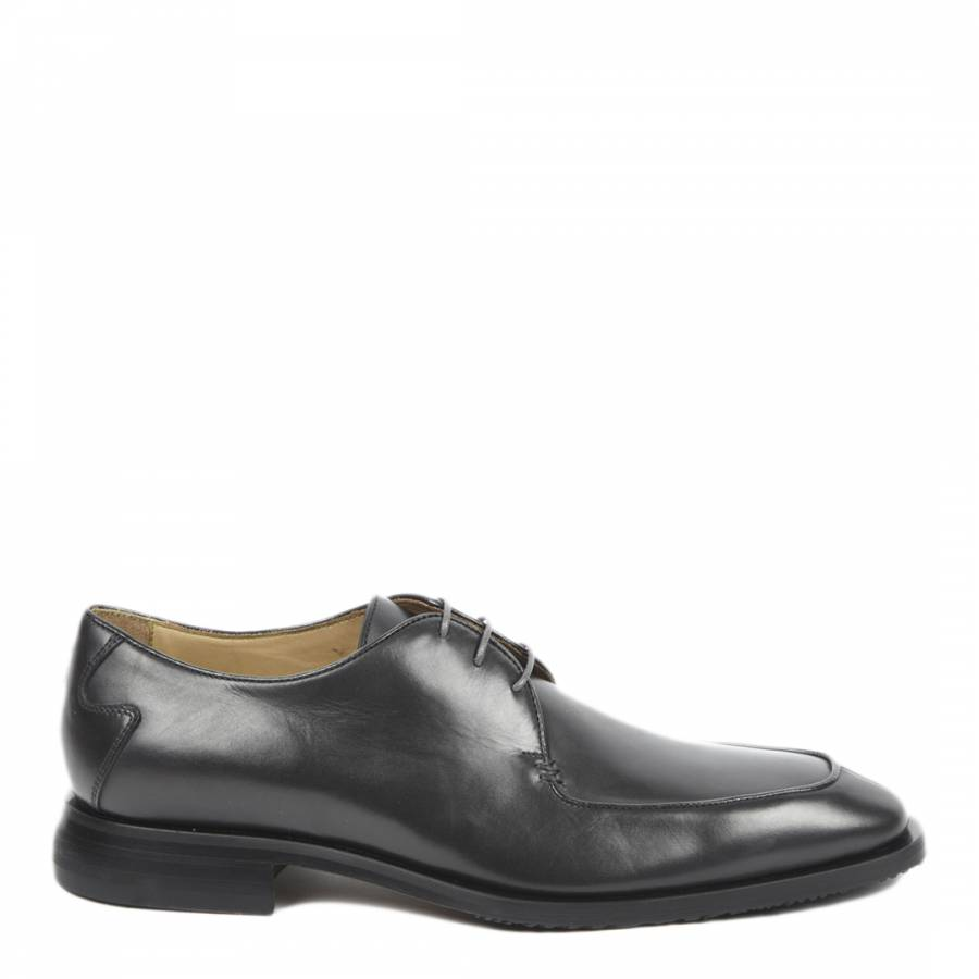 372a028f4eff Oliver Sweeney Black Leather Scolari Derby Shoes
