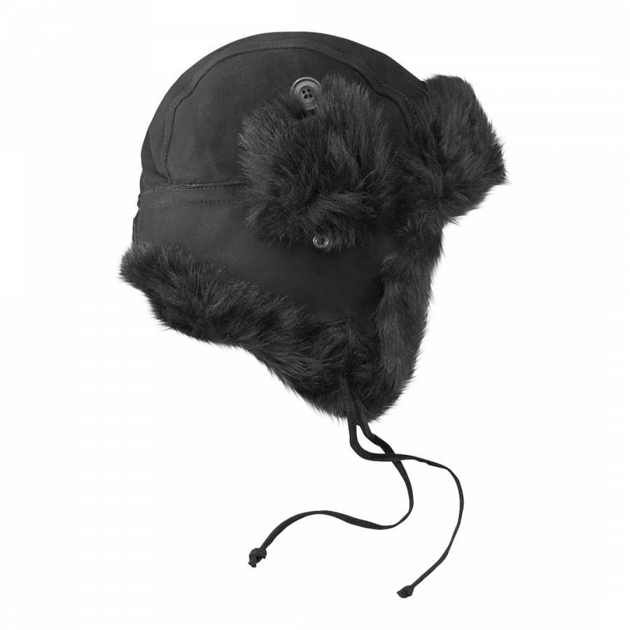 Barney and Taylor Lady s Charcoal McGrath Deer Stalker Hat ad39348391de