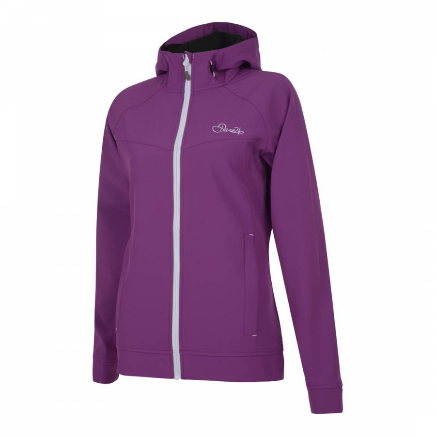 21d043933efa Dare2B Women s Purple Levity Softshell Jacket. prev. next. Zoom
