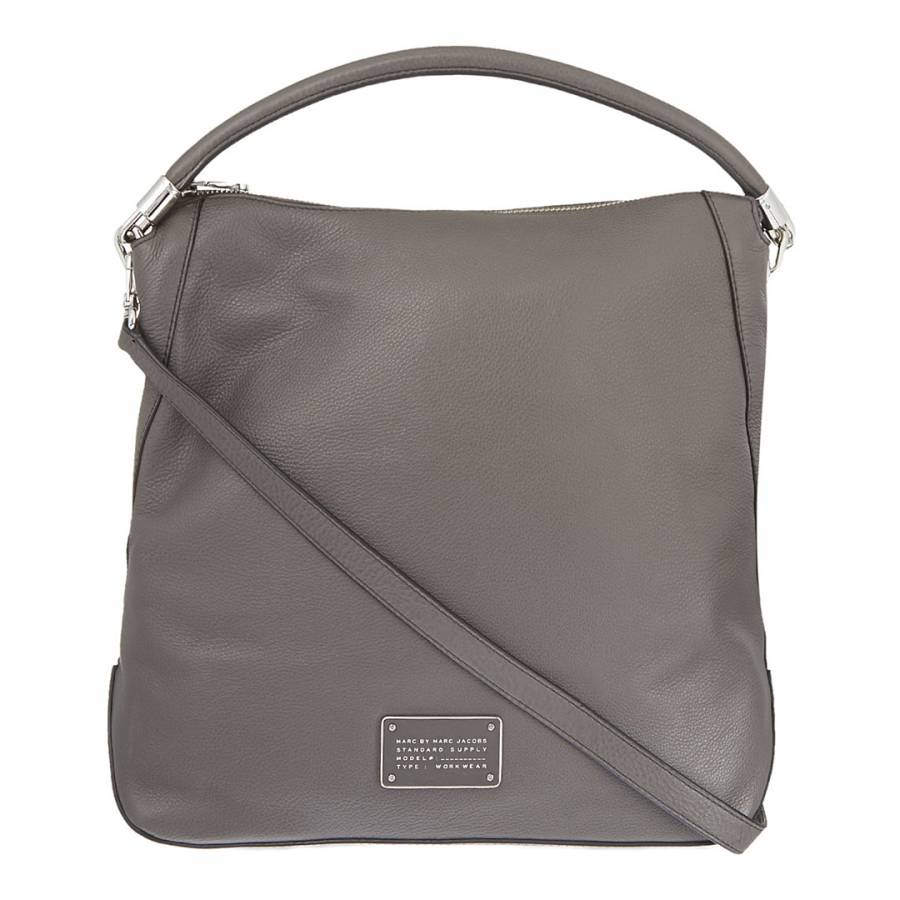 d5a021b4def5 Marc by Marc Jacobs Dark Grey New Too Hot To Handle Hobo Bag