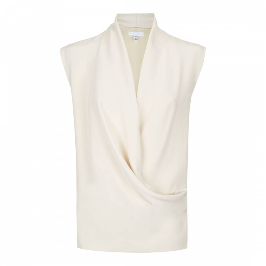 lewis sage buyreiss claire top johnlewis online neck main reiss tops sleeveless at com drapes pdp green neckline rsp drape john