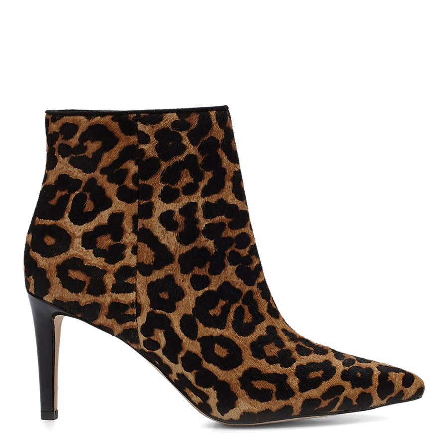 f7425b779e20c1 Sam Edelman Brown Karen Leopard Print Ankle Boots. prev. next. Zoom